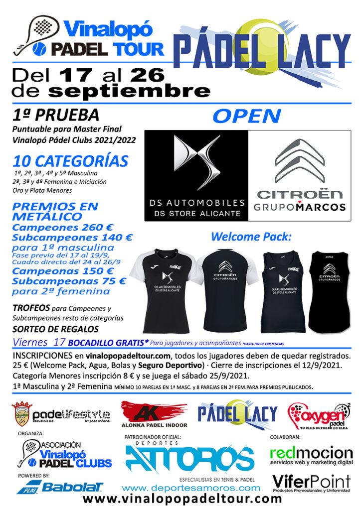 cartel open Ds - Citroen Grupo Marcos